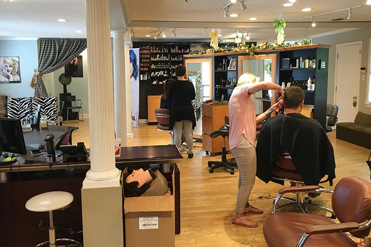Melange Salon Haircut